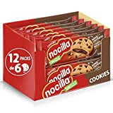 Nocilla Cookies - Galletas de Original, 12 Packs de 6 Unidades