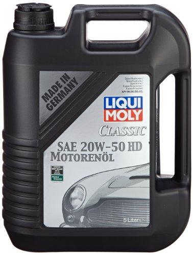LIQUI MOLY 1129 Classic Motoröl SAE 20 W-50 HD, 5 L