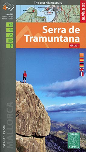 Serra De Tramuntana 1: 25.000