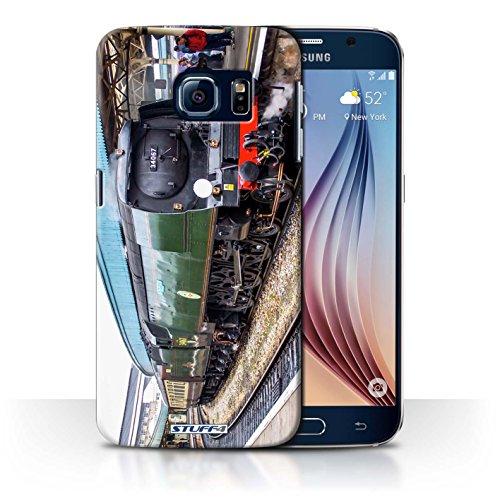 STUFF4 telefoonhoesje/hoes voor Samsung Galaxy S6/G920 / Tangmere/Platform Design/Steam Locomotive Collection