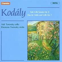 Kodaly: Solo Cello Sonata Op. 8 / Duo for Violin and Cello Op. 7