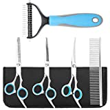 Best Grooming Shears For Dogs - Dog Grooming Scissors with Safety Round Tip Review