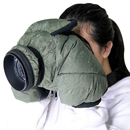 CamRebel Water-Resistant Rain Cover Protector for DSLR Cameras for Outdoor Shooting (for Small Cameras)