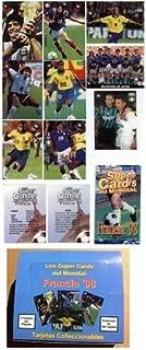 1998 Francia '98 World Cup Soccer Card Box