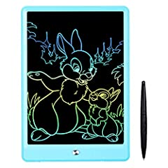 Show your child's creativity and Imagination with color! This smart electronic drawing pad allows your child to write, draw, scribble, doodle, and it can be erase easily! The perfect gift for boys or girls! This kids tablets feels just like familiar ...