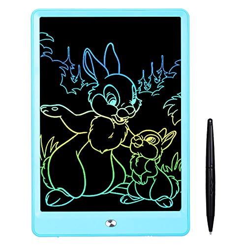 Ansel LCD Writing Tablet 10 Inch Drawing Tablet for Kids Colorful Screen Doodle Board and Kids Drawing Pad for Ages 2
