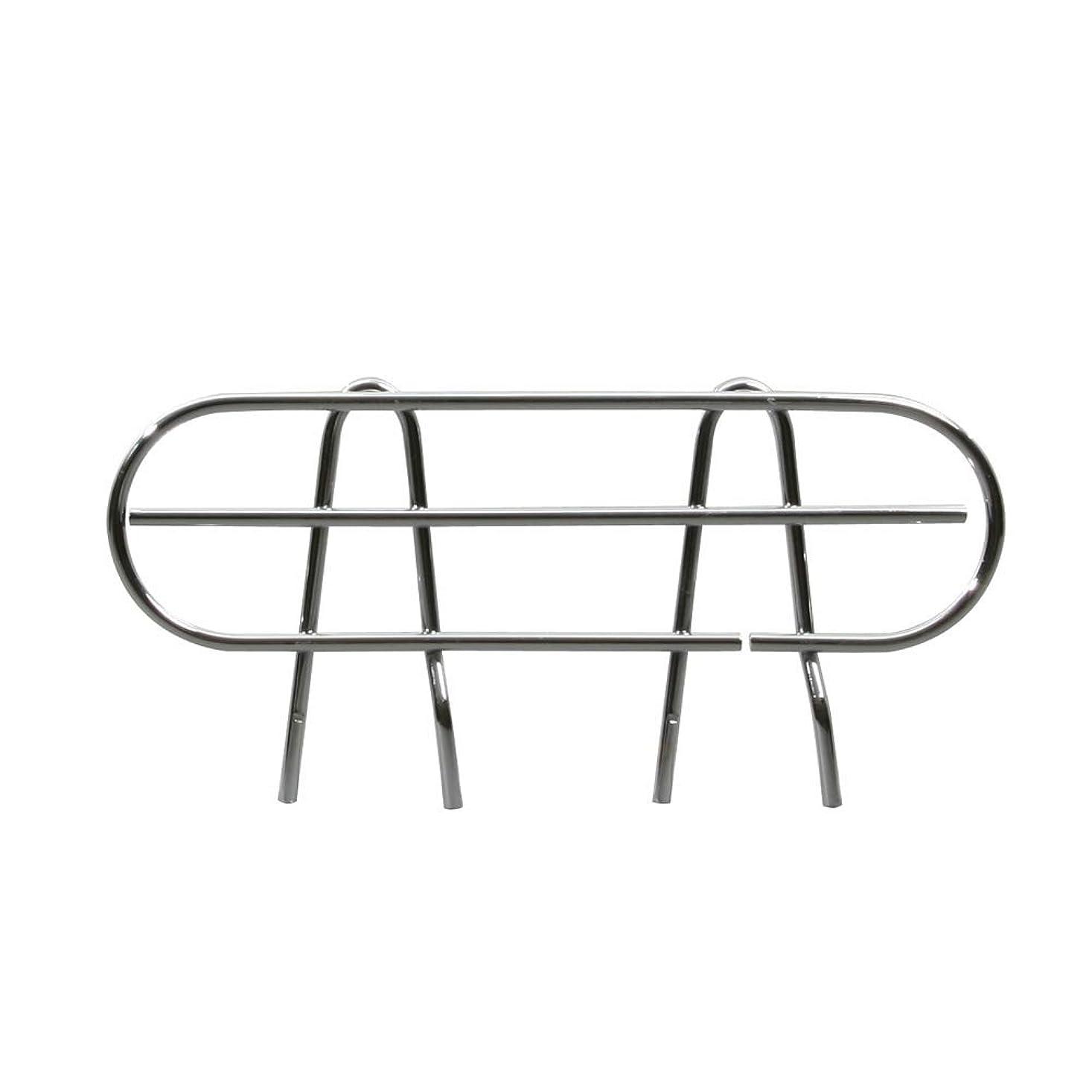 贅沢精神的に海洋のルミナス ポール径25mm用パーツ 機能性アップパーツ サポート柵(こぼれ防止) 奥行35.5cm棚用 幅29×高さ11cm 25SB035