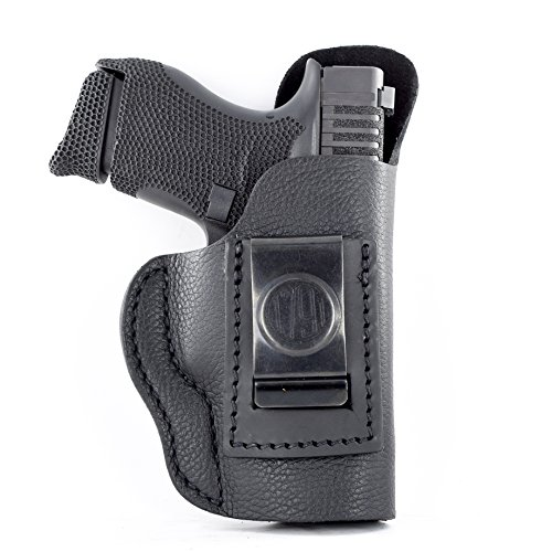 1791 GUNLEATHER Premium Leather IWB Holster CCW Right Handed Gun Holster - Fits G43, G42 and Ruger LC9 & LC9s