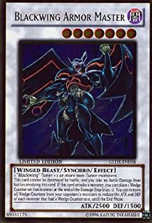Yu-Gi-Oh! - Blackwing Armor Master (GLD3-EN038) - Gold Series 3 - Limited Edition - Ultra Rare