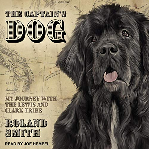 The Captain's Dog audiobook cover art