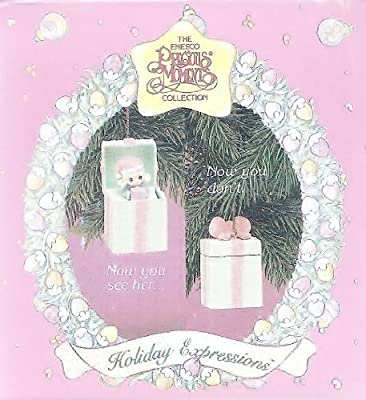 Precious Moments Little Girl Pop-up Christmas Ornament 1993 by Precious Moments