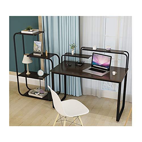 ZFF Kleine Tischkostentischbüro der Hauptdesktopstudentenstudentabelle einfache kreative Schreibtisch (Color : Black)