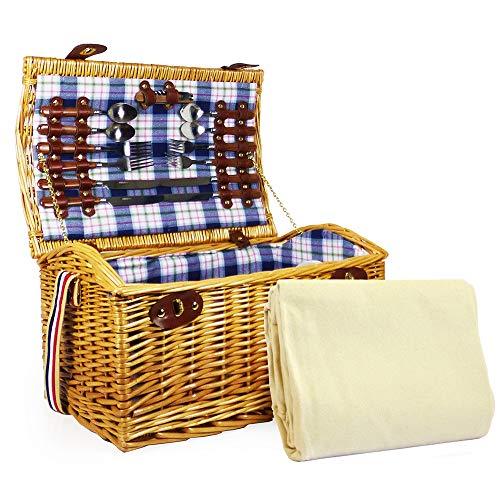 Fine Food Store Sutton 4 persona deluxe picnic cesta cesto