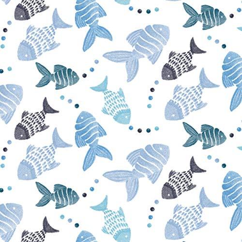 スタイベビーお食事【日本正規品aden+anaisスナップビブ3枚セットgonefishingモスリンコットン100%使用】離乳食赤ちゃんASNC30002J