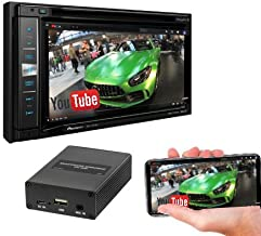 """Pioneer AVIC-5201NEX in-Dash Navigation AV Receiver with 6.2"""" WVGA Touchscreen Display w/ SPA400 Smartphone Mirroring Adapter and a SOTS Lanyard"""