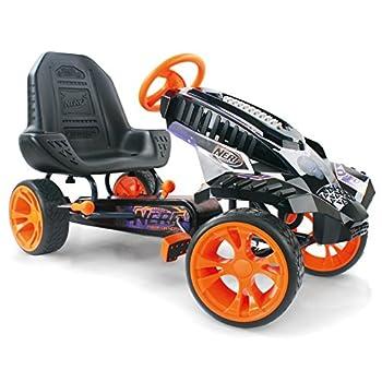 Hauck Nerf Battle Racer Pedal Go Kart Orange/Grey/Black