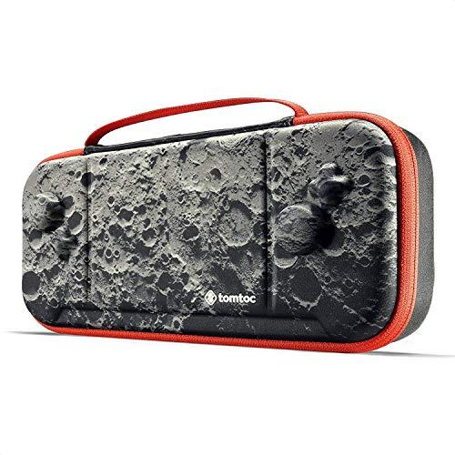 tomtoc Tasche für Nintendo Switch Hori Split Pad Pro Controller, Grip Schutzhülle Case Tragetasche mit 30 Spieltaschen, Moon Theme Limited Edition