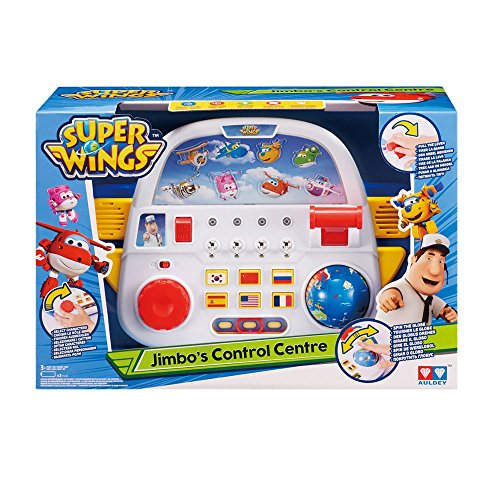Auldeytoys YW710910 Super Wings Jimbo 's Control Center Juguete Unisex Child