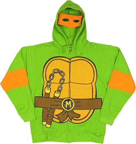 Teenage Mutant Ninja Turtles – Michelangelo Costume Hoodie – Medium