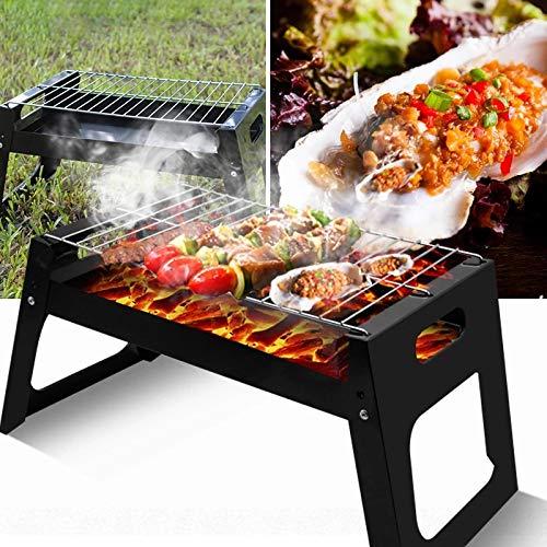512HH2JHmRL. SL500  - QAZW Grill-Klappgrill Tragbare Camping-Installation im Freien Einfacher quadratischer Einweggrill für Outdoor-Aktivitäten Grillzubehör