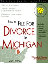 How to File for Divorce in Michigan: With Forms (Self-Help Law Kit With Forms)