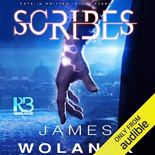 Scribes audiobook cover art