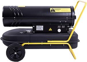 HAKN calentador Calentador industrial Estufa estufa caliente de la planta de alto poder del combustible Ventilador diesel del aire caliente del invernadero 89 * 40 * 47cm ( Color : 30KW )