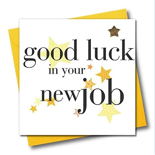 Good Luck And New Job Cards Amazon Co Uk