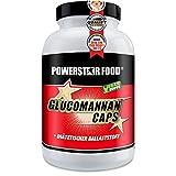 GLUCOMANNAN CAPS - 100% Glukomannan Ballaststoff Fasern aus Konjakwurzel -