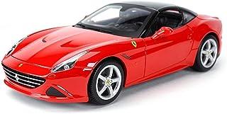 車のモデル カーモデルカー1,18フェラーリカリフォルニアシミュレーション合金ダイカスト玩具ジュエリースポーツカーコレクションジュエリー26x11.3x6.2CM(カラー、赤A)を、レッドA (Color : Red B, Size : One...