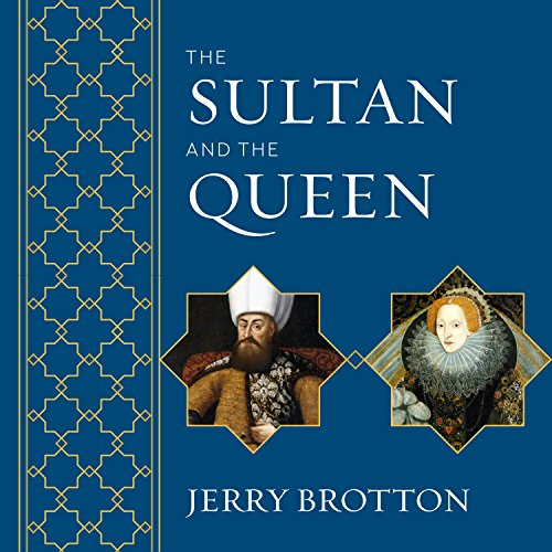 The Sultan and the Queen audiobook cover art