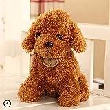 Perro de peluche Zhuotop de 18cm, bonito y creativo, para almohada o regalo