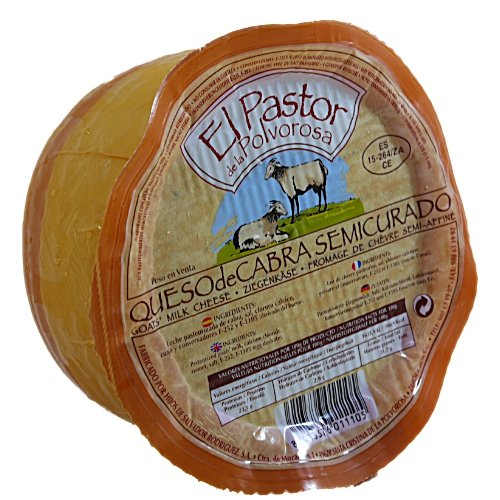 El Pastor 100% Queso de Cabra-Spanische Ziegenkäse mit Rosmarin 45% Fett 550gr Stück