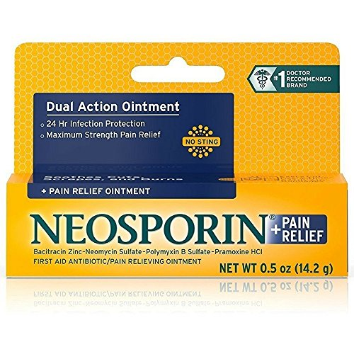 Neosporin  Pain Relief Ointment 050 oz Pack of 2