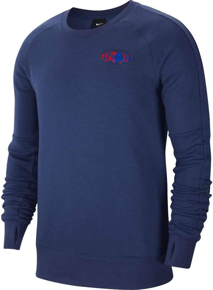 2020-2021 England Max 69% OFF Fleece Ranking TOP3 Crew Sweatshirt Navy