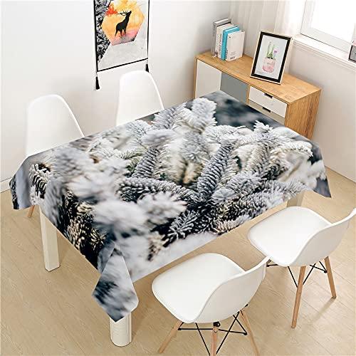 XXDD Mantel de Diente de león de poliéster para Hotel, Mesa de Picnic, Mantel Rectangular, Mesa de Comedor para el hogar, Mesa de café, decoración A9 140x160cm