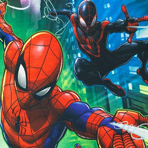 Marvel Maglietta Maniche Corta per Ragazzi Uomo Ragno Multicolor 5-6 Anni