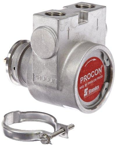 Procon 115B330F31XX Stainless Steel Rotary Vane Pump, 1/2
