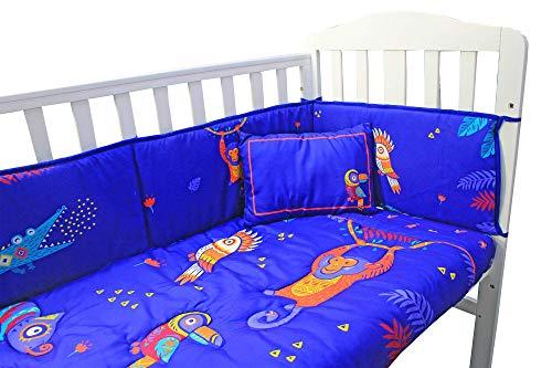 Parure de lit complète pour chambre d'enfant avec housse de couette, drap-housse et taie d'oreiller Bleu