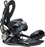Gnu Cheeter Snowboard Bindings Mens Sz M (7-10) Black