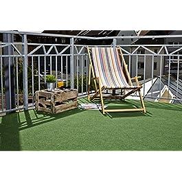 onloom Gazon Artificiel Field, Tapis de pelouse Artificielle avec Picots de Drainage, Plusieurs Tailles Disponibles…