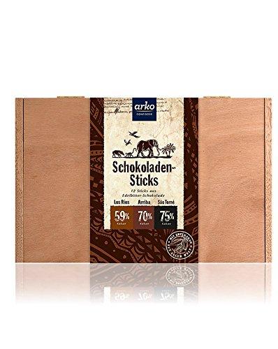 Arko Schokoladen-Sticks, Edelbitter-Schokolade, 480 G
