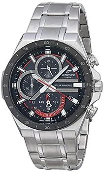 Casio Men s Edifice Quartz Watch with Stainless Steel Strap Silver 28.5  Model  EQS-920DB-1BVCR
