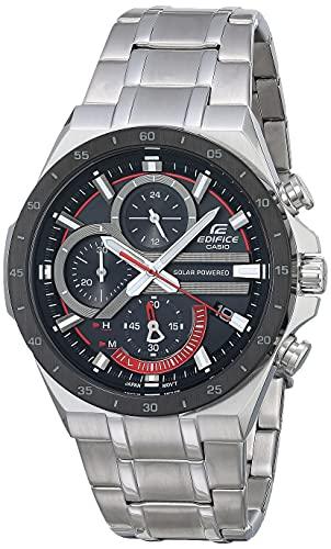 reloj casio negro con plateado fabricante Casio