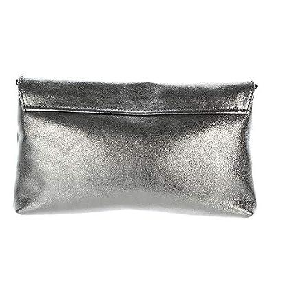 Jost Boda Clutch & Abendtasche, Silber