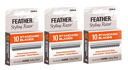 Feather Styling Razor Blades 30 count