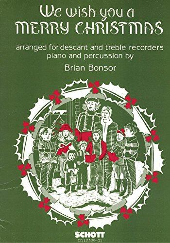 We Wish You a Merry Christmas -Ensemble de Partitions