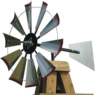 30-inch Windmill Head w/Plain Rudder, Build an 8-Foot Tall Windmill