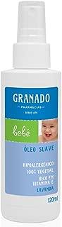 Linha Bebe Granado - Oleo Suave Lavanda 120 Ml - (Granado Baby Collection - Lavander Delicate Oil 4.0 Fl Oz)