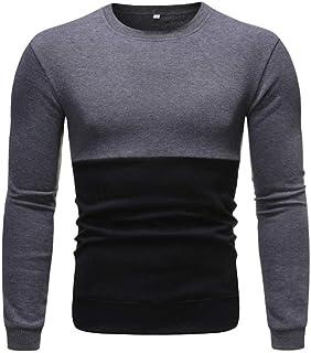 YANGPP Autumn Casual Men Sweater O-Neck Striped Slim Fit Knittwear Sweaters Men Pullovers Pullover Pull Homme Streetwear